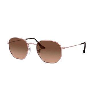 Óculos de Sol Orizom Hexagonal Feminino