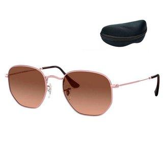 Óculos de Sol Orizom Hexagonal Unissex