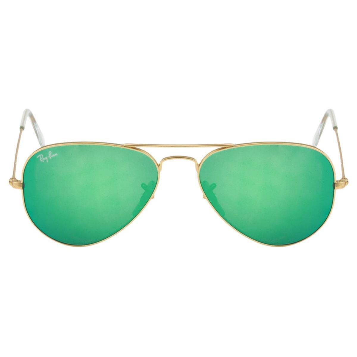 Óculos de Sol Ray-Ban Aviator 58 RB3025 Esp Dr Vd 112-19 - Compre ... 3bddf714d3