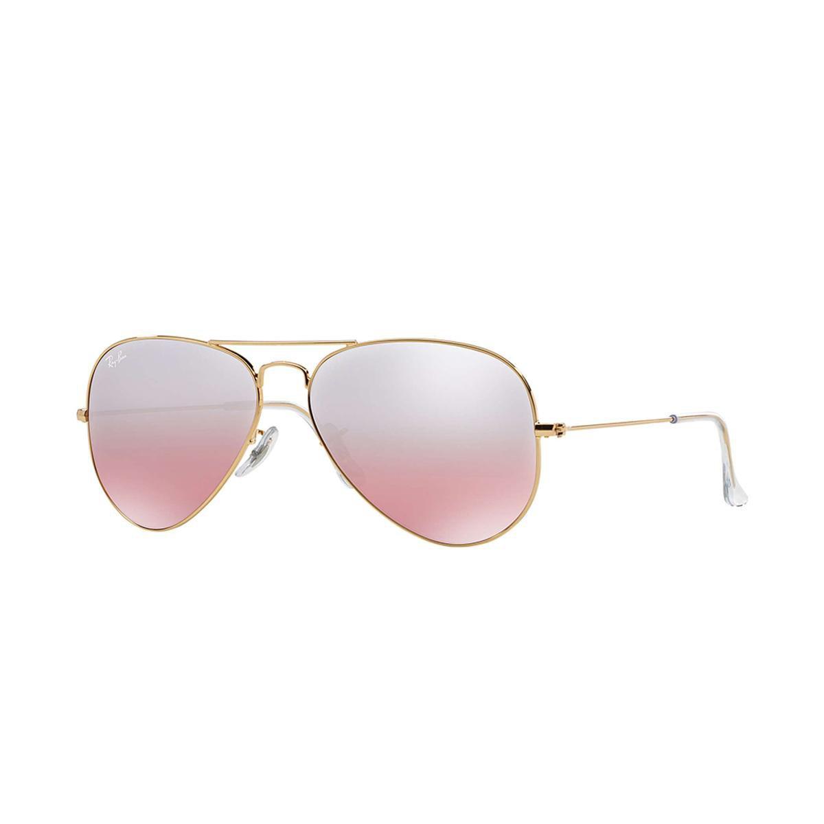 Óculos de Sol Ray-Ban Aviator Gradiente - Dourado - Compre Agora ... a56643b655