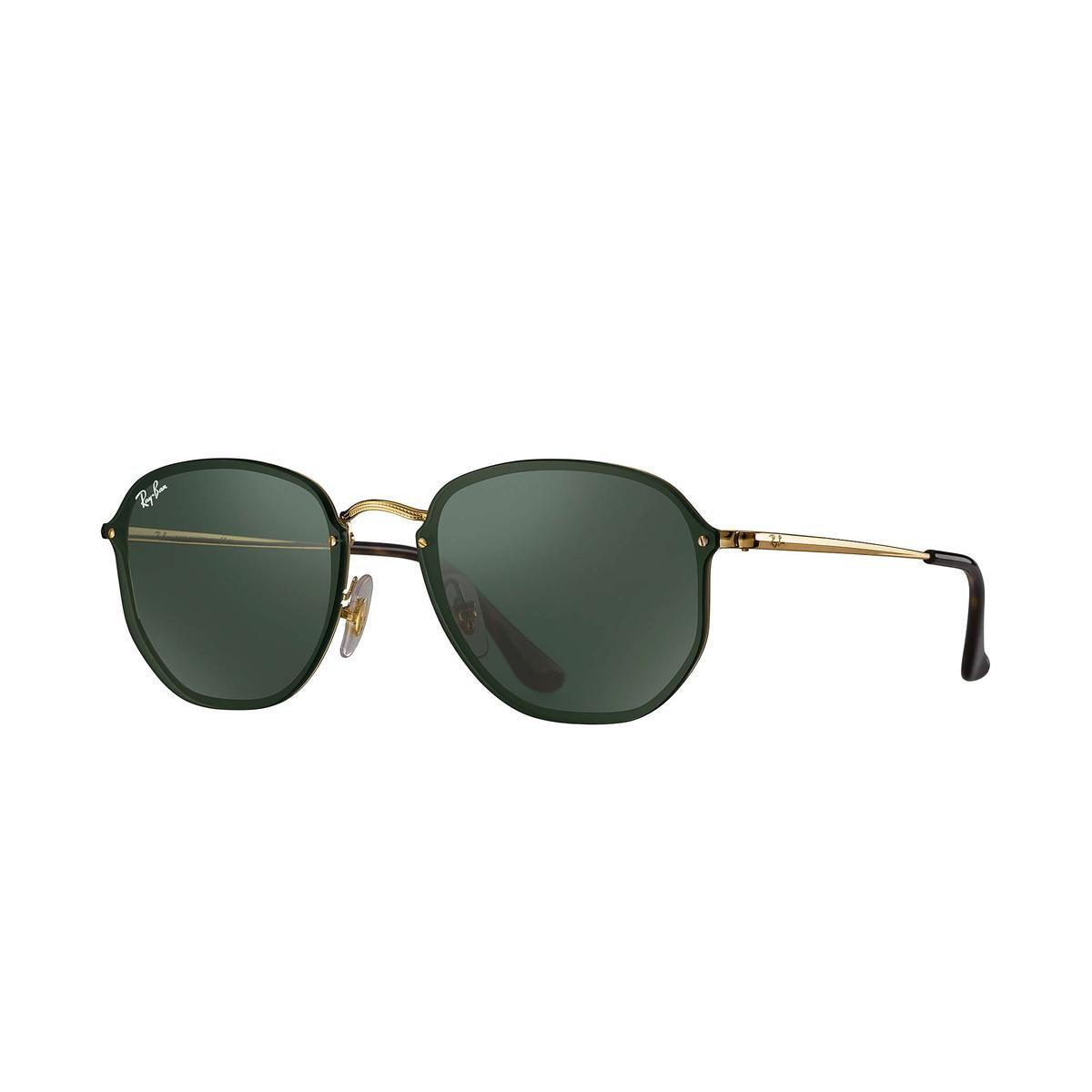 Óculos de Sol Ray-Ban Blaze Hexagonal - Dourado - Compre Agora ... 366129c1ac