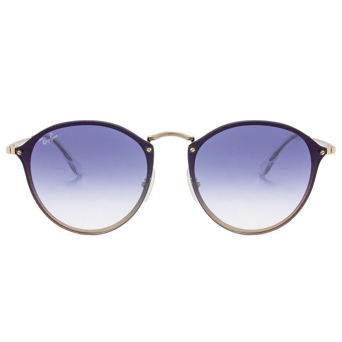 c9a815fde11dd Óculos de Sol Ray-Ban Blaze Round RB3574N -001 X0 59 - Compre Agora ...
