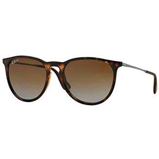 Óculos de Sol Ray-Ban Erika Tartaruga Marrom RB4171L Tam.54