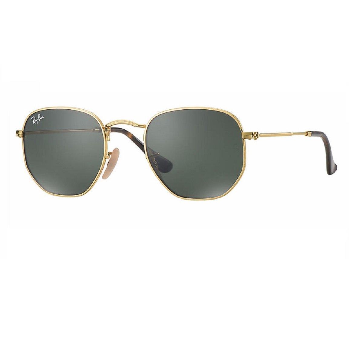 3117aeac316 Óculos de Sol Ray Ban Hexagonal RB3548N 001 - Dourado - Compre Agora ...