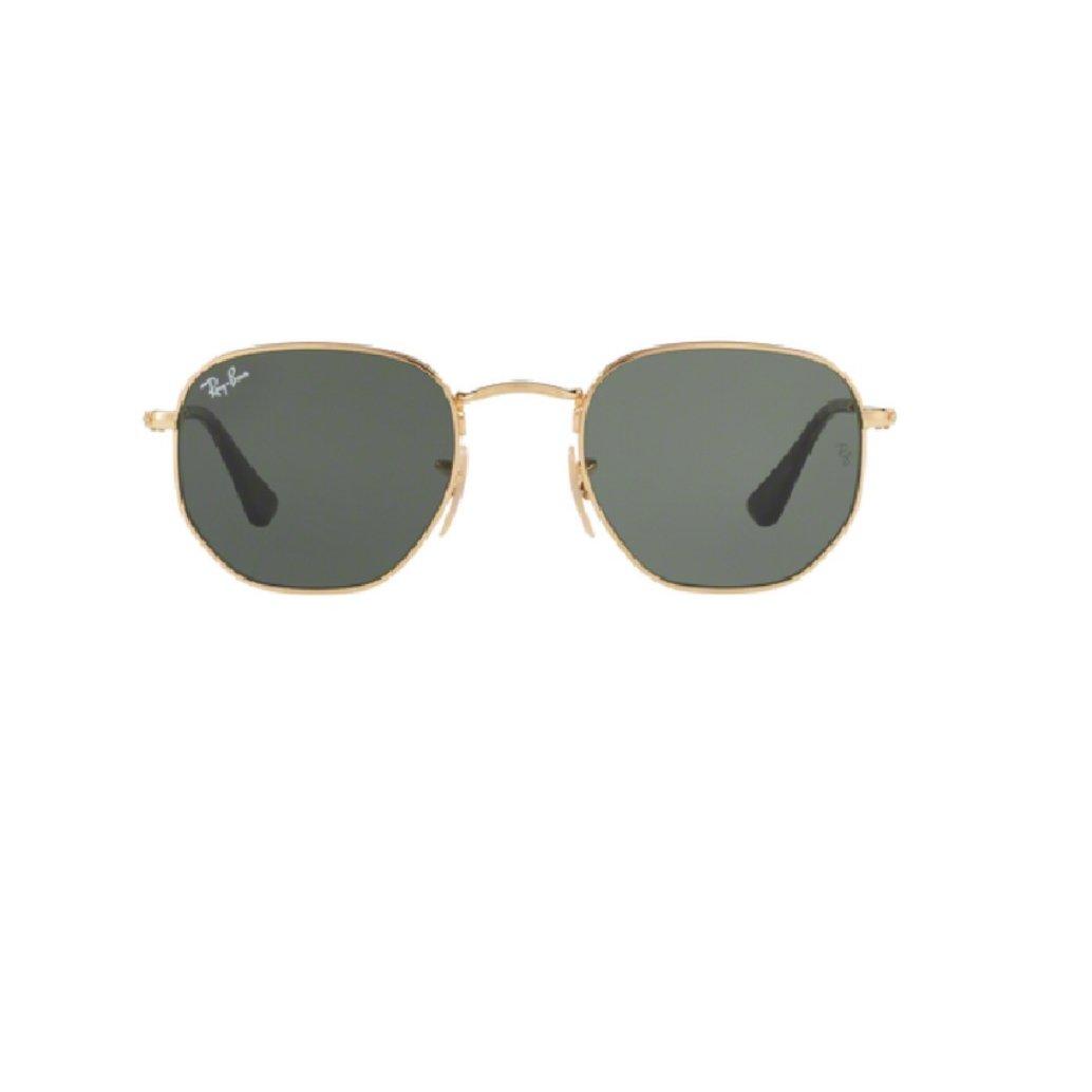 73bc96c7cedd17 Óculos de Sol Ray Ban Hexagonal RB3548N 001 - Dourado - Compre Agora ...