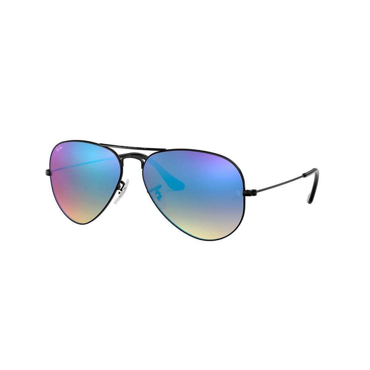 Óculos de Sol Ray-Ban RB3025 Aviator Gradiente Espelhado - Compre Agora    Netshoes 5d8642d9ed