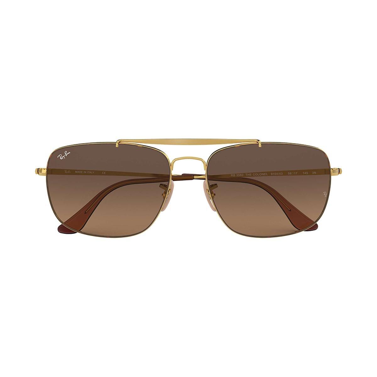 Óculos de Sol Ray-Ban RB3560 Feminino - Dourado - Compre Agora ... e154a66846