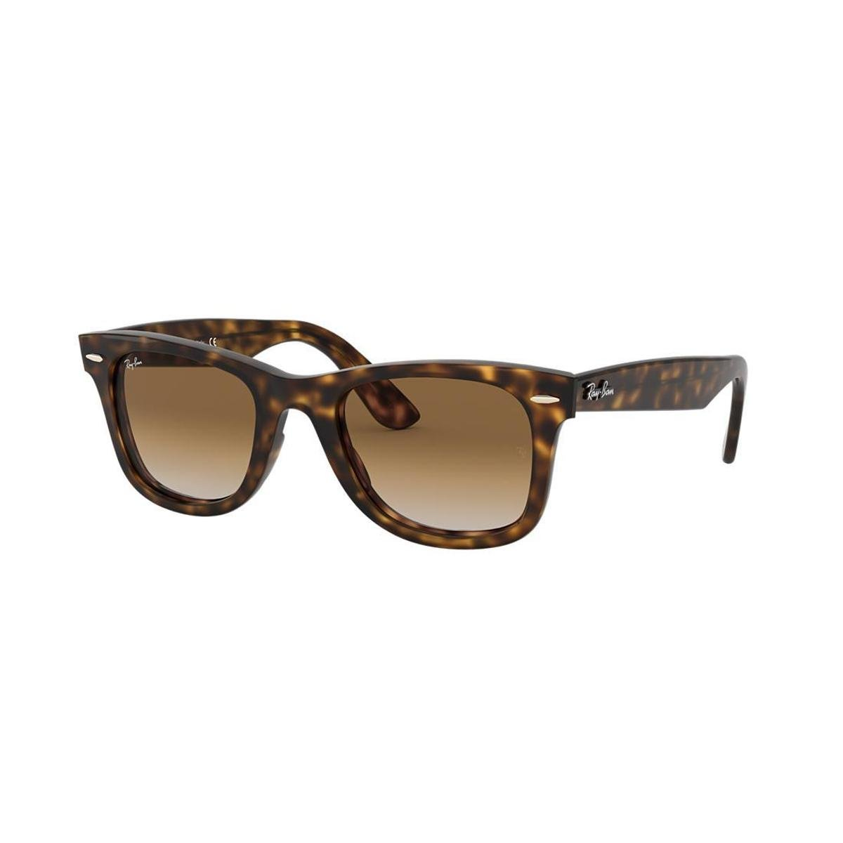 a9b442edc9295 Óculos de Sol Ray-Ban RB4340 Wayfarer - Marrom - Compre Agora