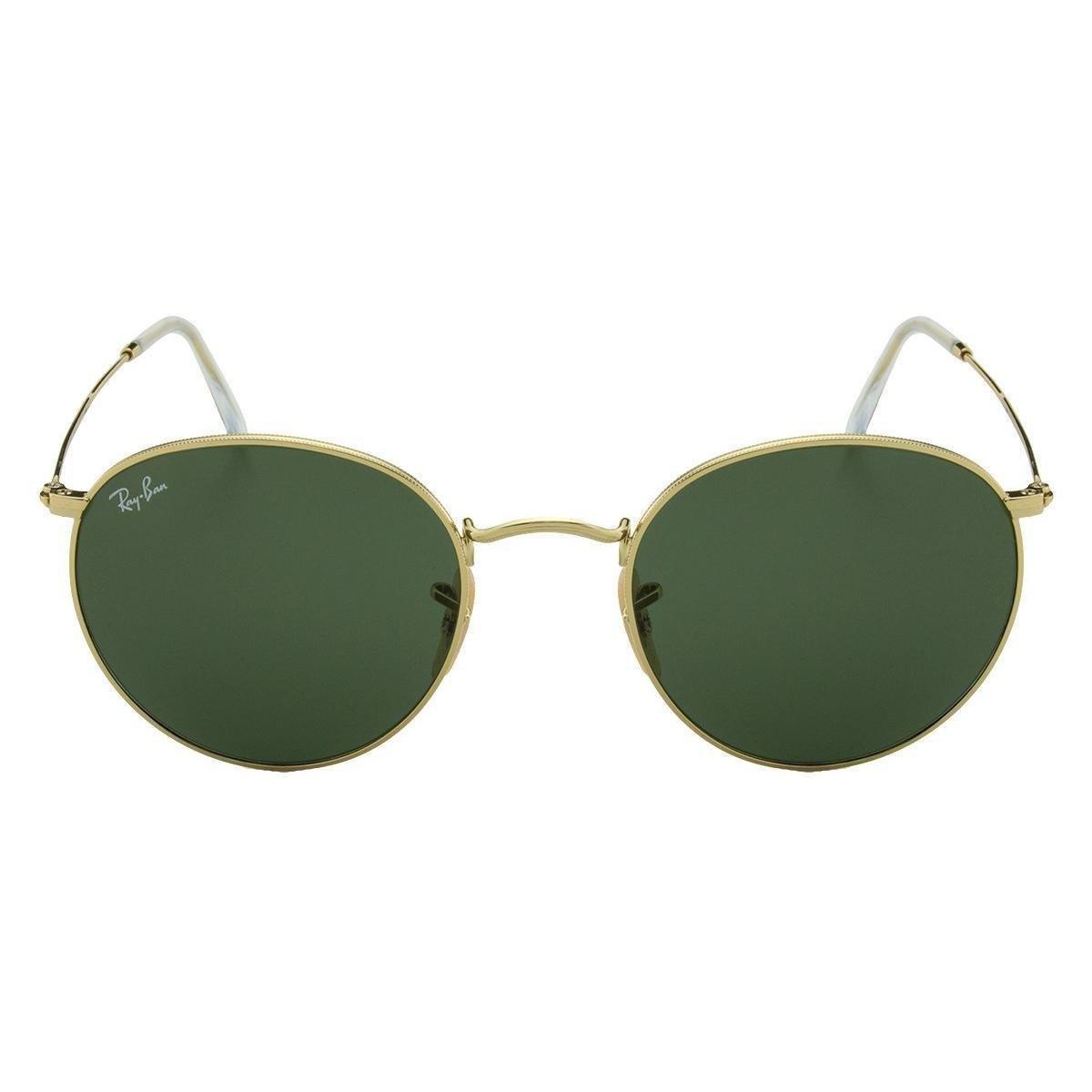 82bf86c221455 Óculos de Sol Ray-Ban Round Metal RB3447L - 9001A5 53 - Compre Agora ...