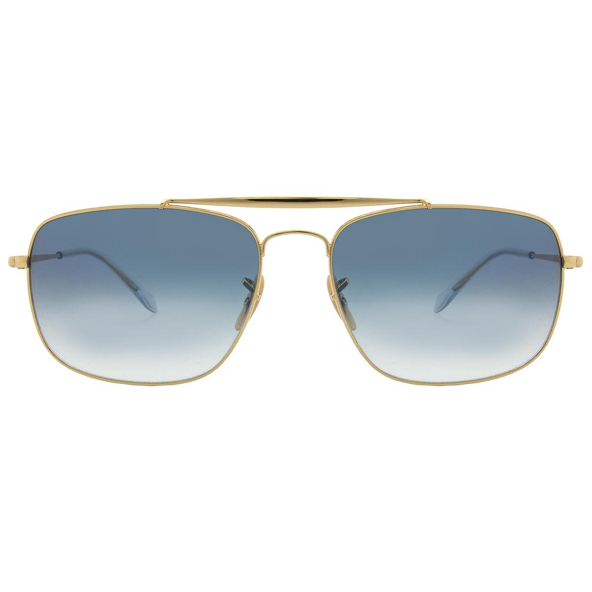 Óculos de Sol Ray-Ban The Colonel RB3560 -001 3F 61 - Preto e ... 4d27fc6f77