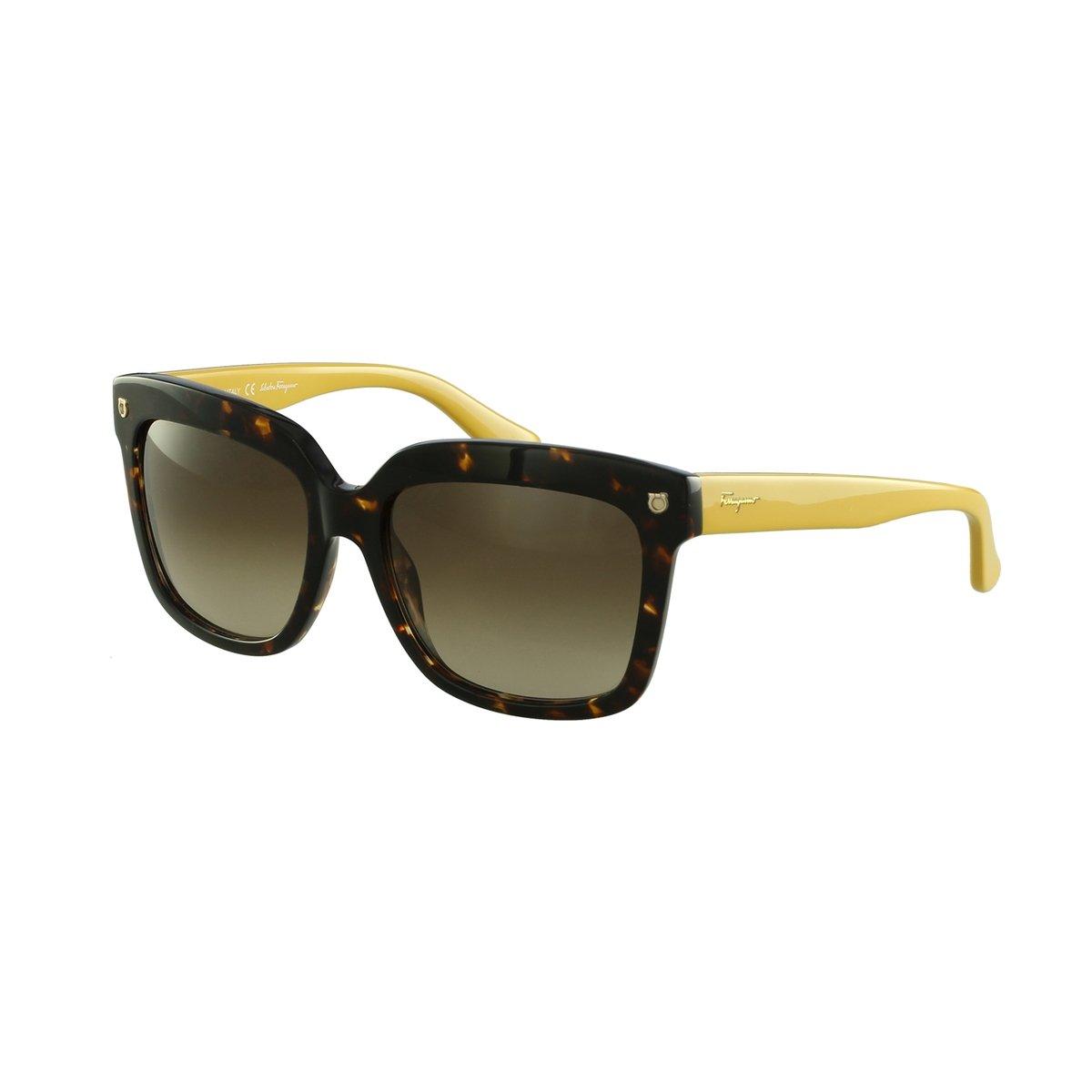 aaf9b5f087dc6 Óculos de Sol Salvatore Ferragamo Fashion Marrom - Compre Agora ...