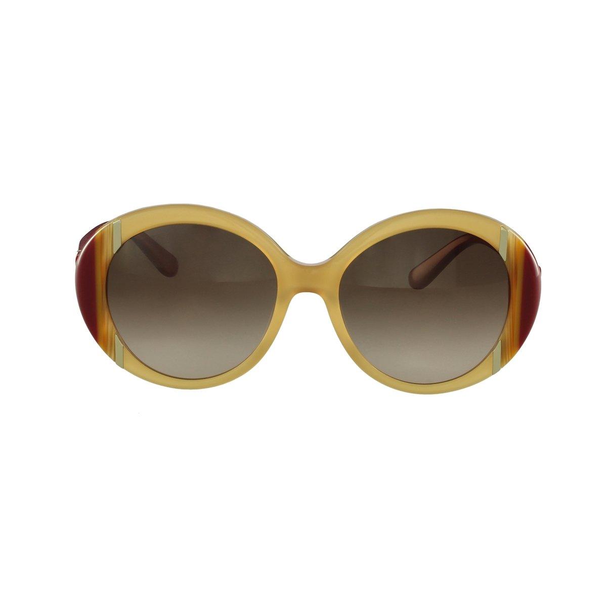 24d1719f0ac72 Óculos de Sol Salvatore Ferragamo Fashion Marrom - Compre Agora   Netshoes