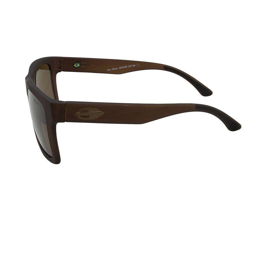 ... Óculos de Sol San Diego Marrom Translucido Polarizado Mormaii ... 0d3dfd7548