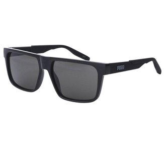 Óculos de Sol Solar Puma PU0315S Masculino Preto