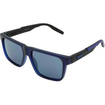 Óculos de Sol Solar Puma PU0315S Unissex Preto/Azul