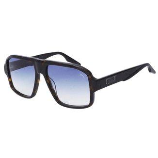 Óculos de Sol Solar Puma PU308S Degradê Marrom