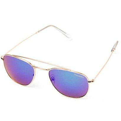 Óculos de Sol Thomaston Round Aviador Azul e VerdeÓculos de sol THOMASTON é um acessórioque vai ao encontro de quem dese...
