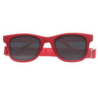 Óculos De Sol Vermelho Alca Ajustável Buba Baby