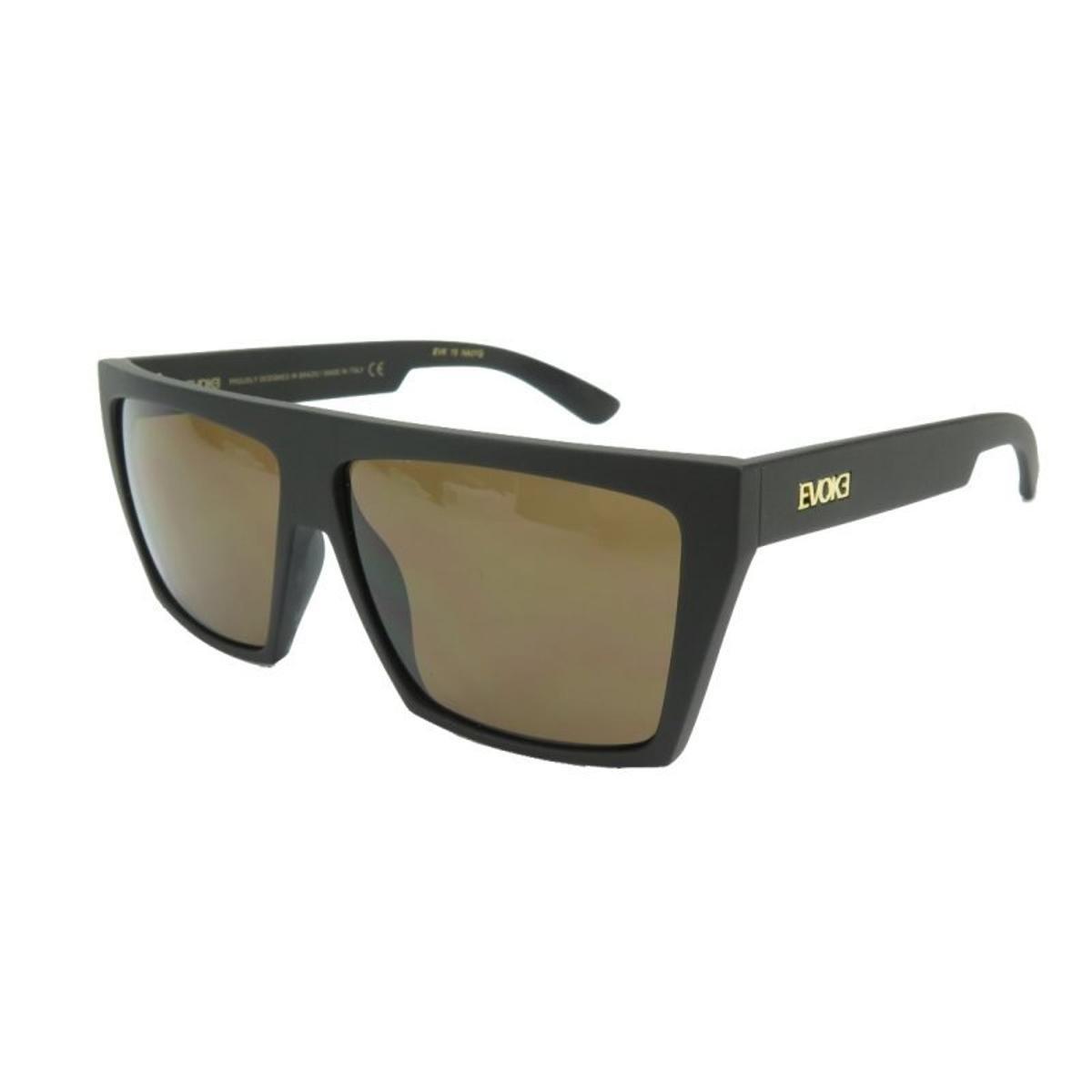 6cf036d84aeb6 Óculos Evoke 15 New Black Matte Gold Brown Total - Compre Agora ...