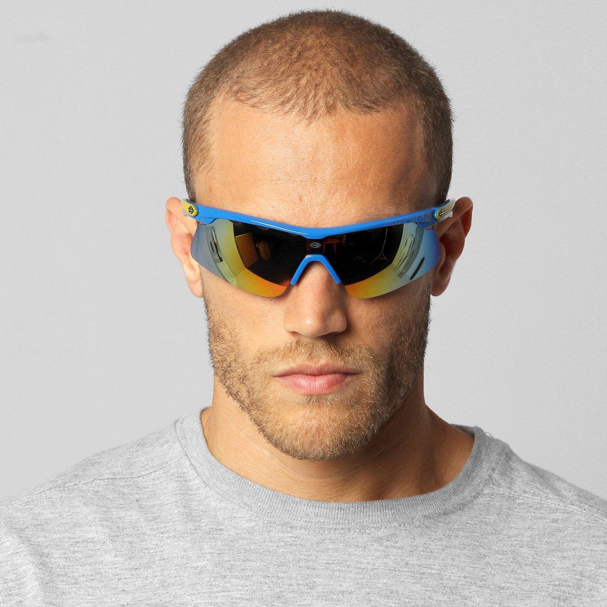 Óculos Mormaii Athlon 2 - Azul e amarelo - Compre Agora   Netshoes c6126299bc