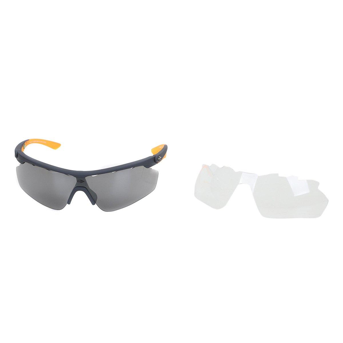 fad978059e8fc Óculos Mormaii Athlon 3 - Cinza e Laranja - Compre Agora