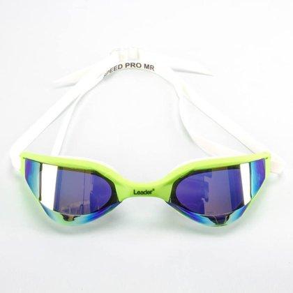 Óculos Natação Espelhado Leader Speed Pro