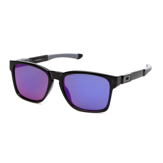Menor preço em Óculos Oakley Catalyst Iridium - Preto e Roxo