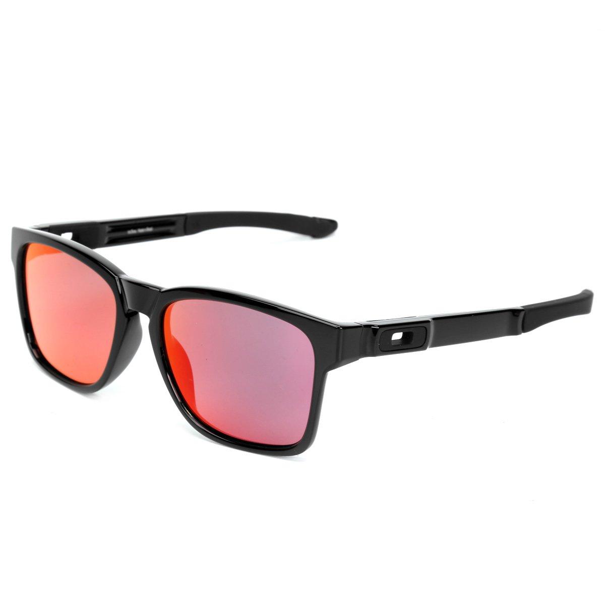 fb8f28e67e4a5 Óculos Oakley Catalyst Masculino - Vermelho e Preto - Compre Agora ...