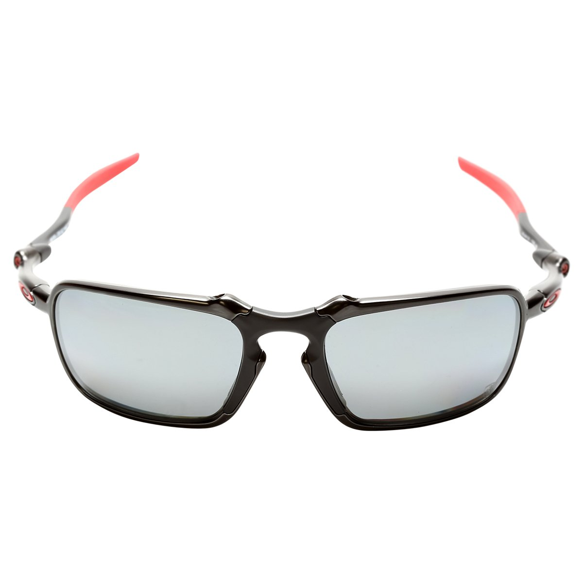 ... Óculos Oakley Ferrari Badman Dark Carbon - Iridium Polarizado ... f3cbe8dab5