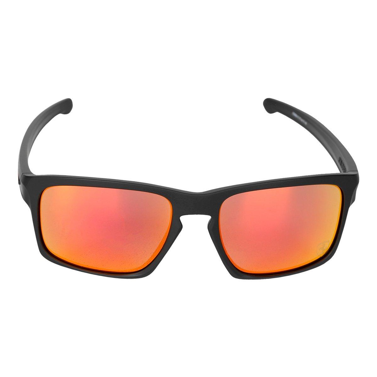 0aa61ae2b21f6 Óculos Oakley Ferrari Sliver Matte - Iridium - Compre Agora   Netshoes