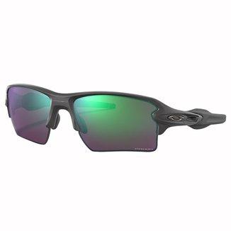 Óculos Oakley Flak 2.0 XL Steel/Lente Prizm Road Masculino