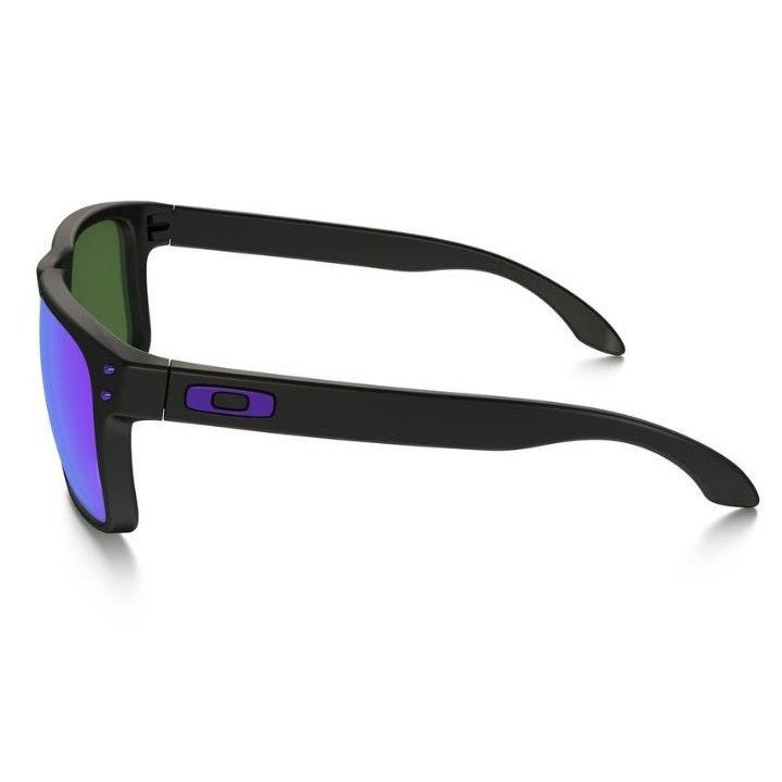 Óculos Oakley Holbrook Julian Wilson - Matte Black - Vio - Compre ... 1a195c2a27