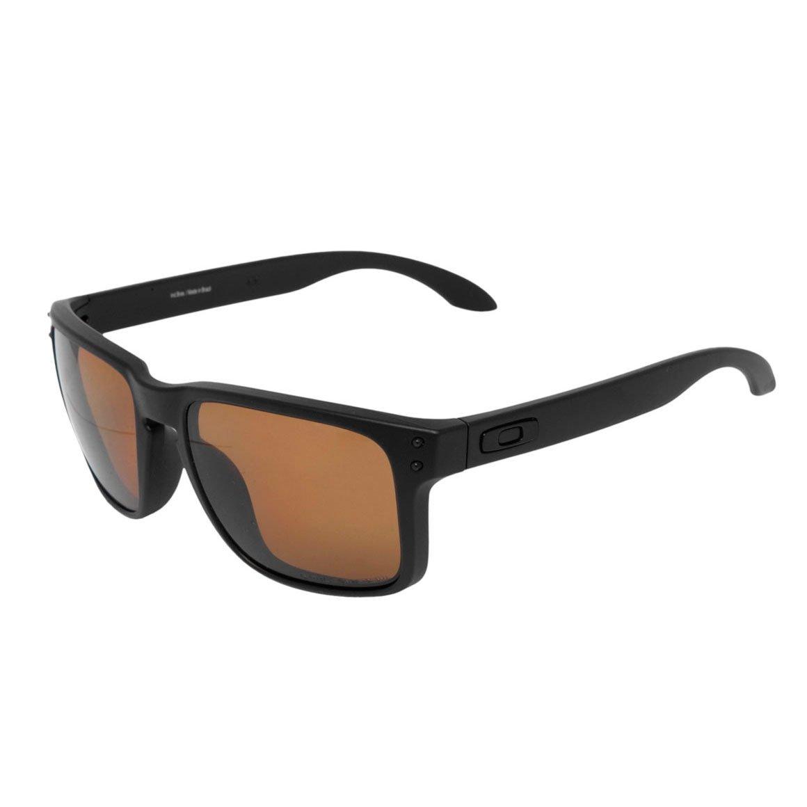 f24c8ad2eee21 Óculos Oakley HOLBROOK MATTE BLACK   BRONZE Polarized - Compre Agora ...