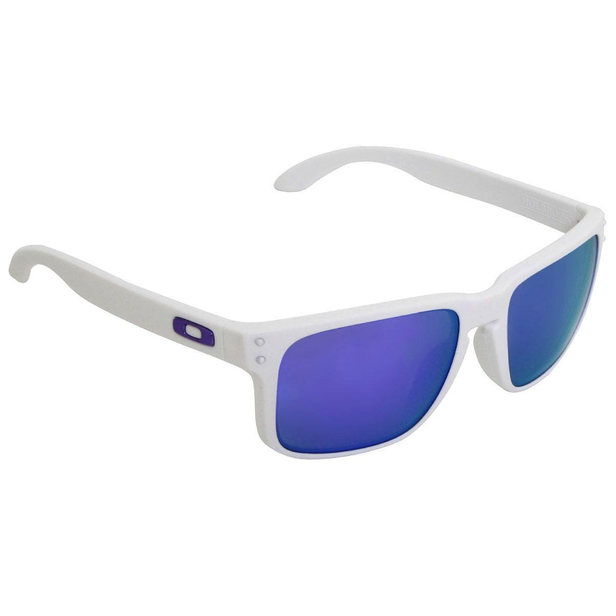 Óculos Oakley Holbrook Matte White  Lente Violet - Compre Agora ... 110e9538a5