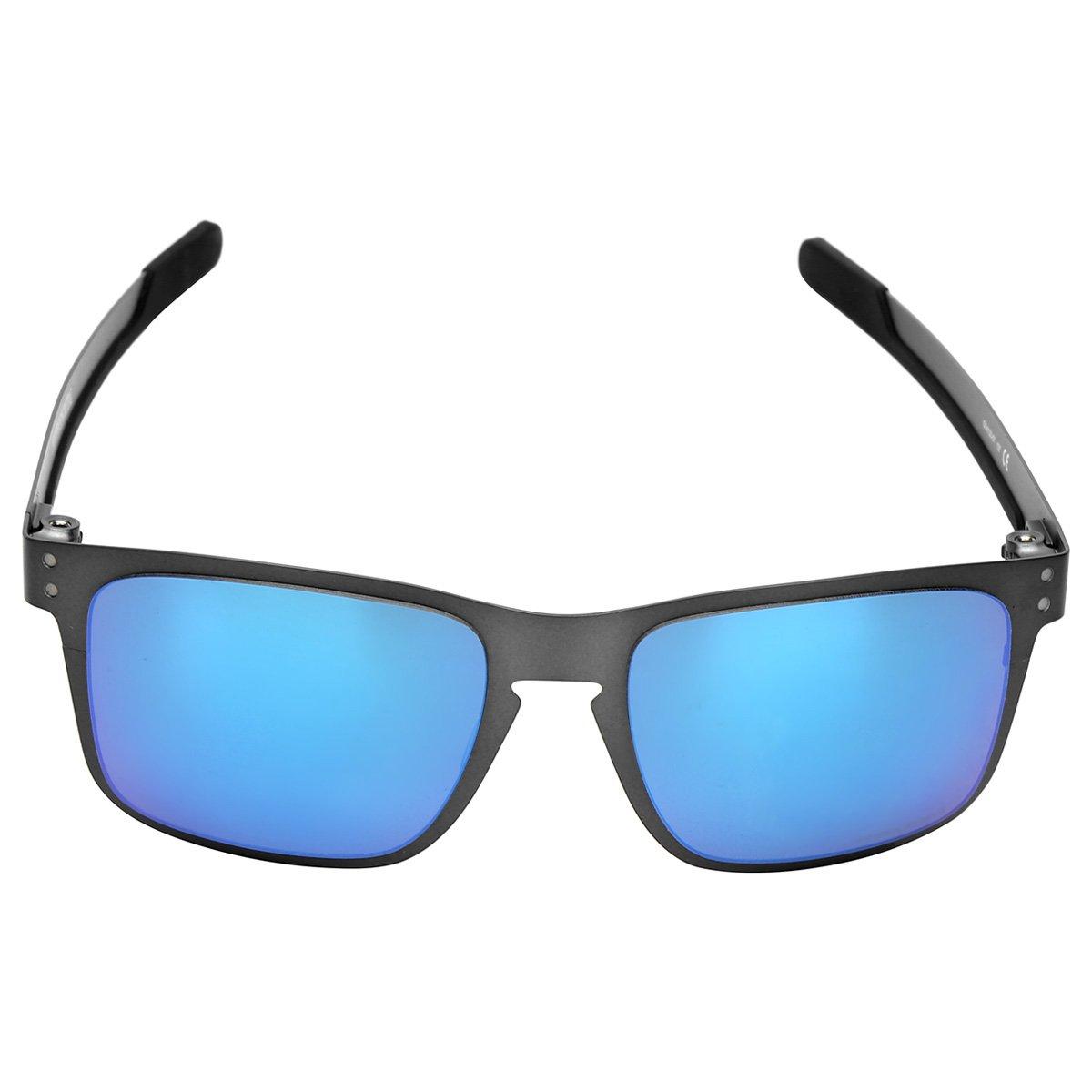889b1265449ad Óculos Oakley Holbrook Metal-412307 - Chumbo - Compre Agora   Netshoes