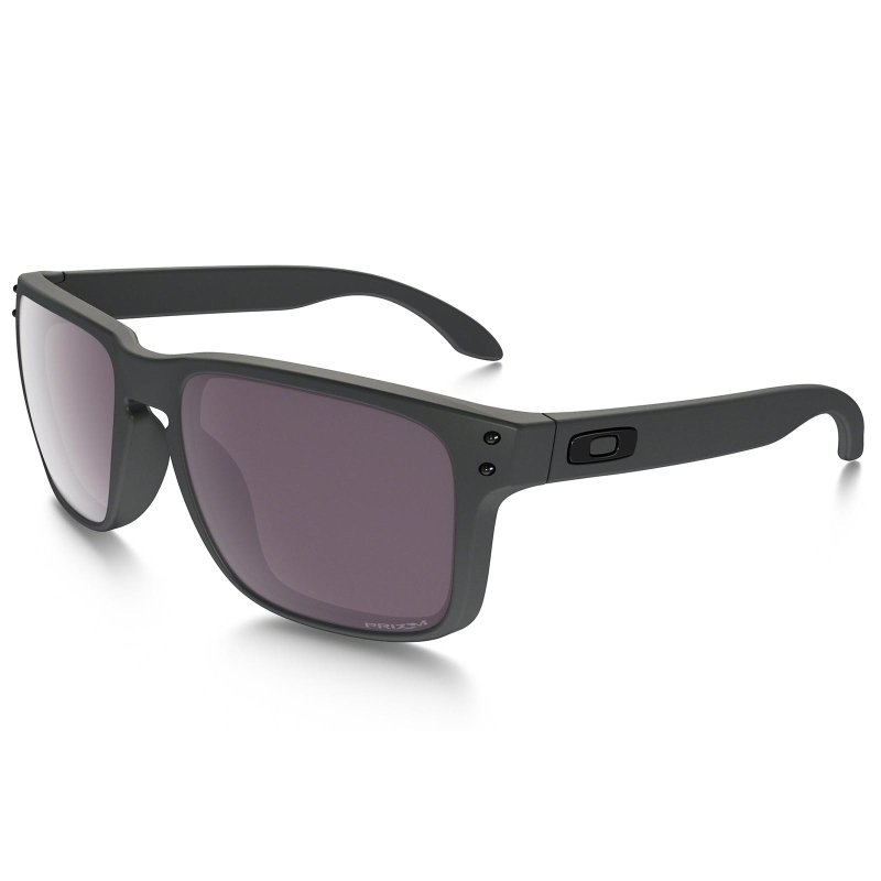 Óculos Oakley Holbrook Steel Prizm Daily Polarized - Compre Agora ... 23261a00a6
