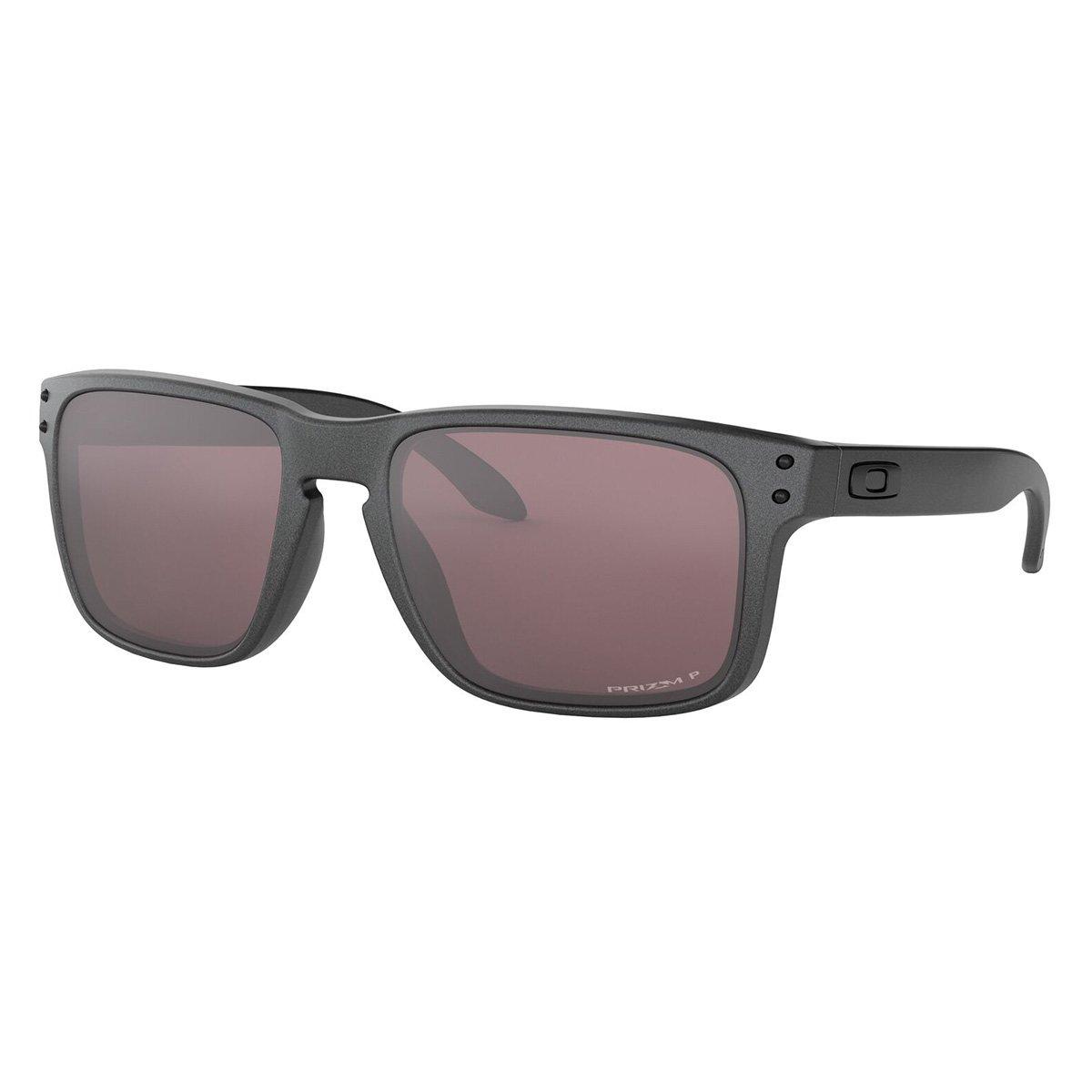 6d822aa5c3843 Óculos Oakley Holbrook - Preto e Cinza - Compre Agora   Netshoes