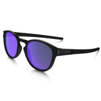 Óculos Oakley Latch Matte Black / Violet Iridium