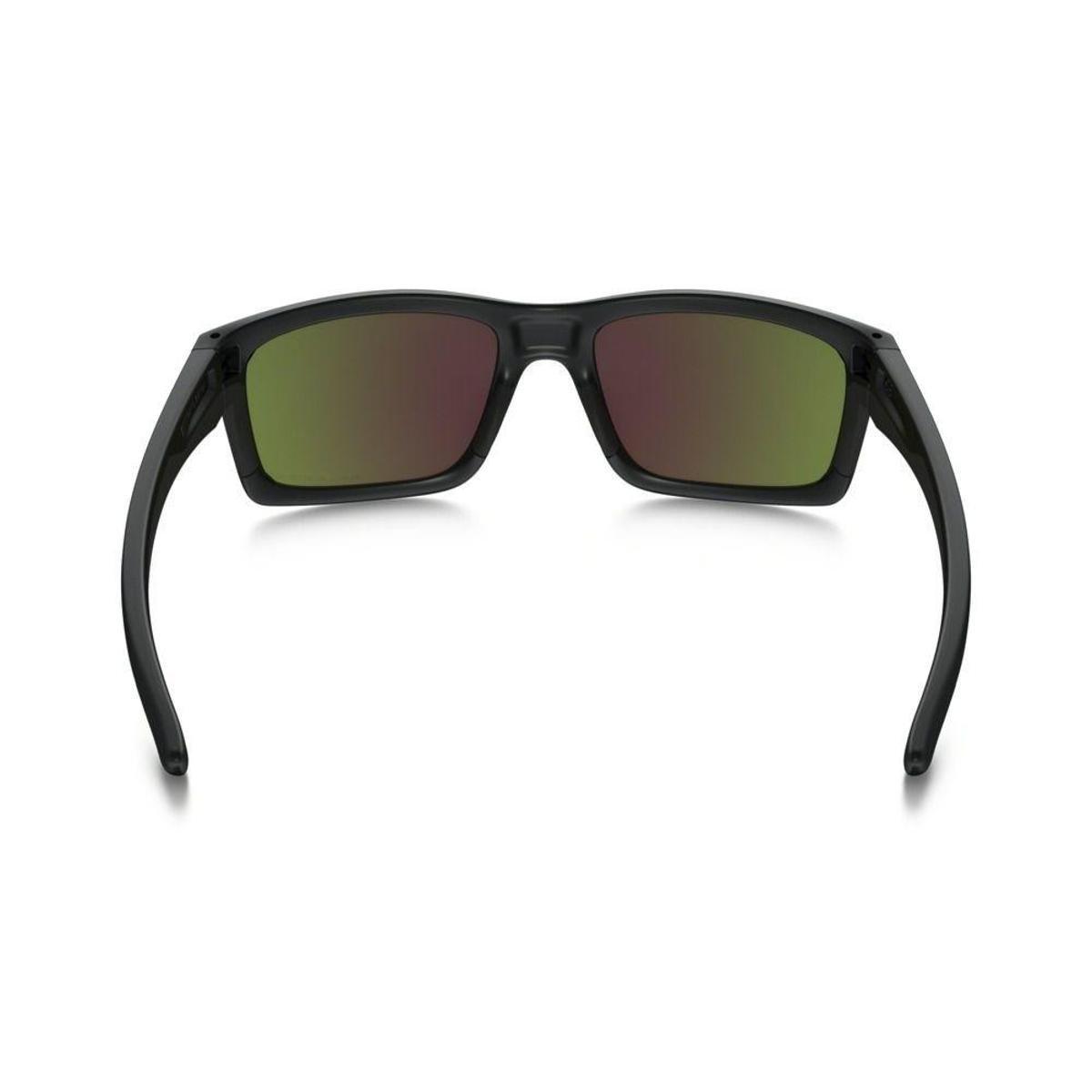 fdbf4d491c1a6 Óculos Oakley Matte Black W Ruby Iridium Polarized - Preto - Compre ...