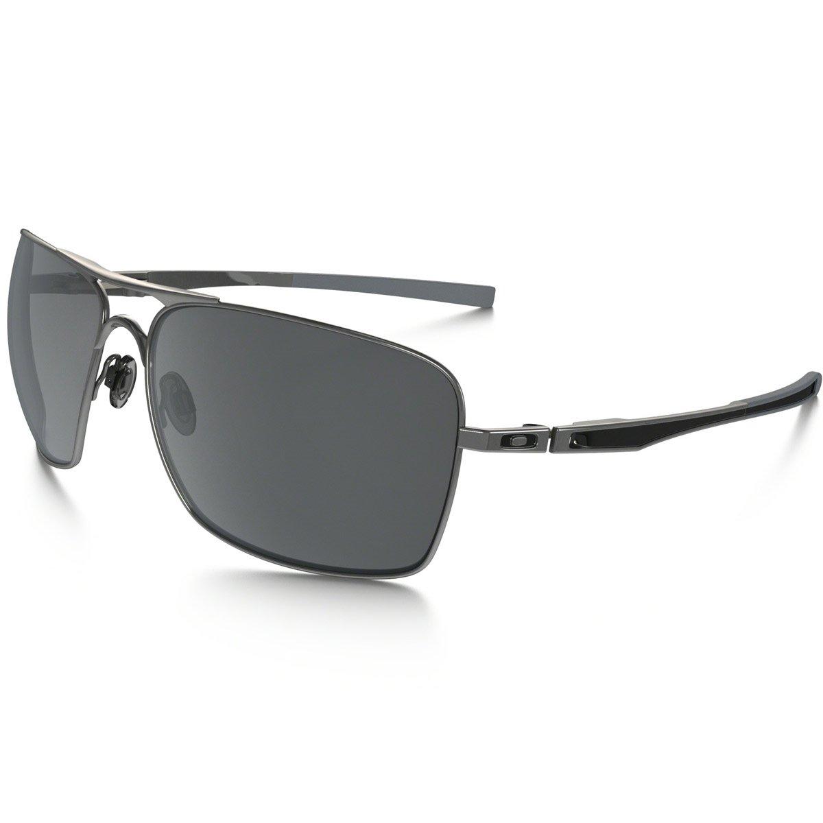 Óculos Oakley Plaintiff - W  Black Iridium Polarizado - Compre Agora    Netshoes f6ab9ab5d5