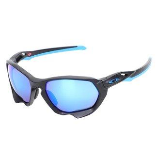 Óculos Oakley Plazma Matte Prizm Sapphire Polarized