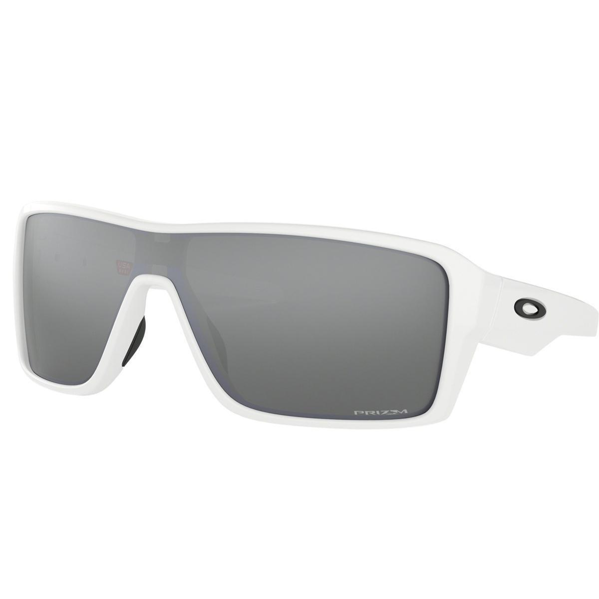 aefd5019b8b68 Óculos Oakley Ridgeline Polished White Lente Prizm Black Iridium - Branco - Compre  Agora