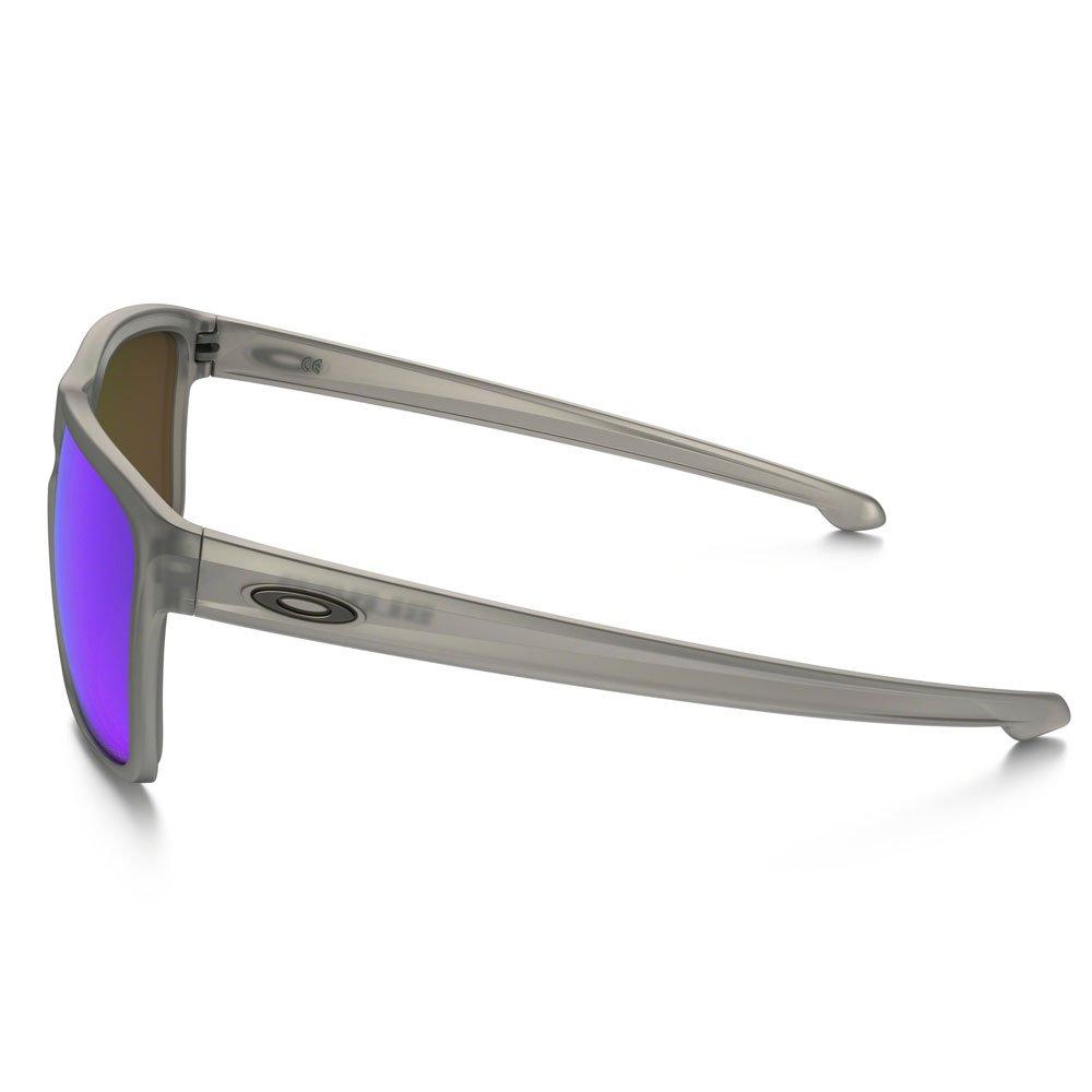 ... Óculos Oakley Sliver XL Matte Grey Ink   Sapphire Iridium Polarized ... 0dffdc9473