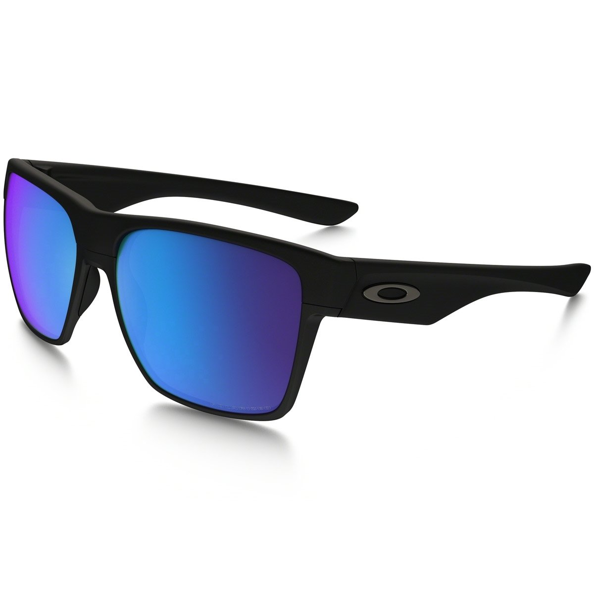 08491dfa82d6d Óculos Oakley Twoface Xl - Matte Black   Sapphire Iridium Polarized -  Compre Agora