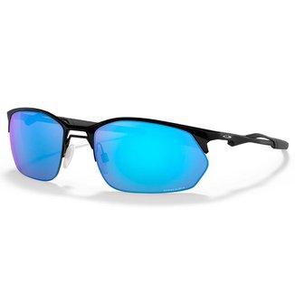 Óculos Oakley Wire Tap 2.0 Satin Black Prizm Sapphire