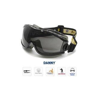Óculos Proteção Everest - Lente Cinza Fumê - Danny