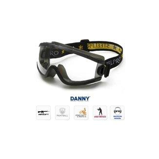Óculos Proteção Everest - Lente Incolor Transparente - Danny
