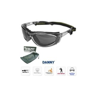 Óculos Proteção Turbine - Lente Cinza Fumê - Danny