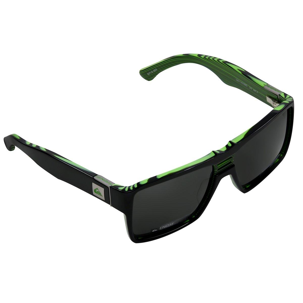 17c42aef2996f Óculos Quiksilver Enose Camo - Preto - Compre Agora