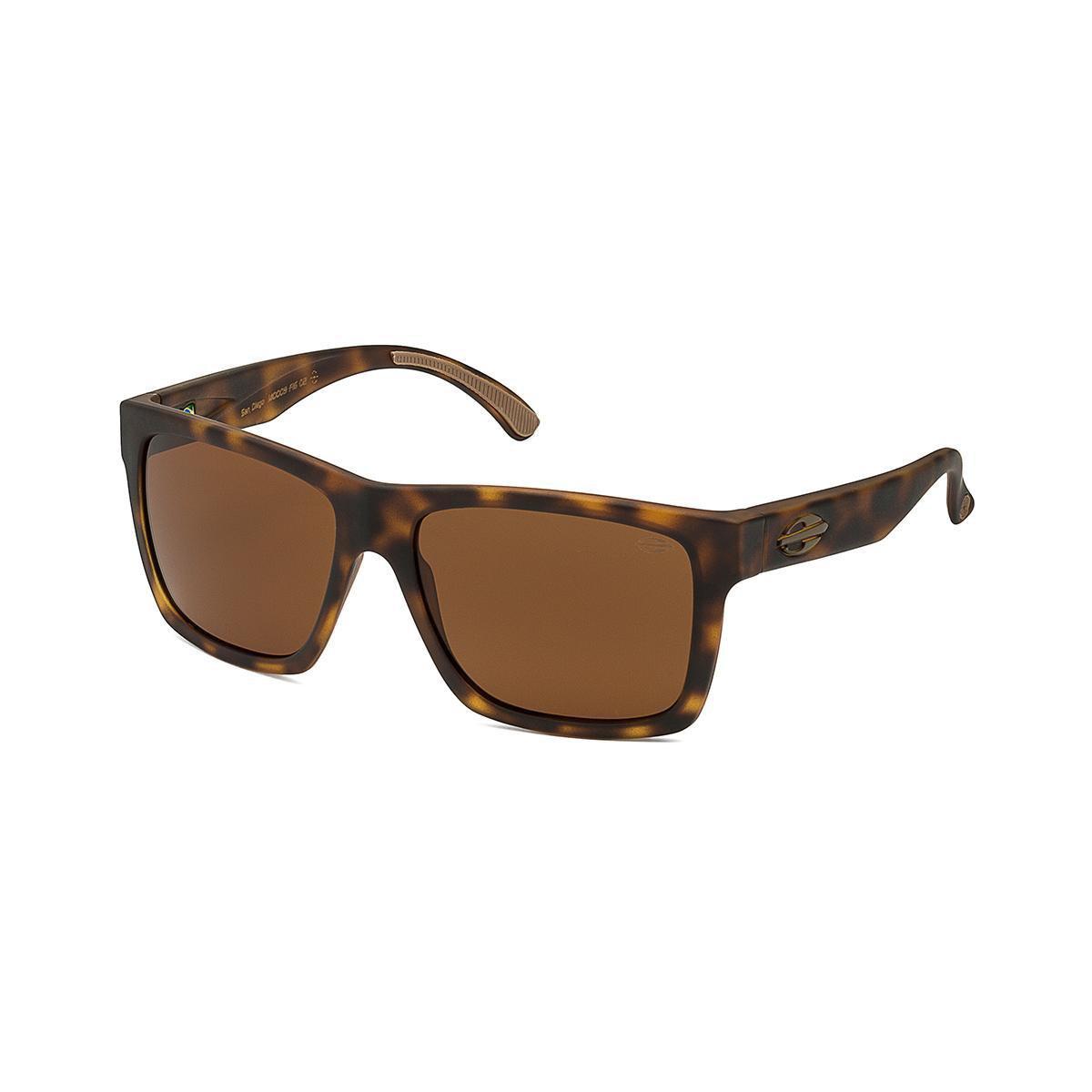 12d846e3dbf38 Oculos Sol Mormaii San Diego - Marrom Claro - Compre Agora